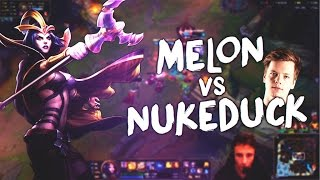 MELON VS NUKEDUCK - Leblanc vs Syndra