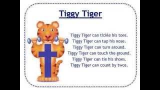 Alphafriends: Tiggy Tiger