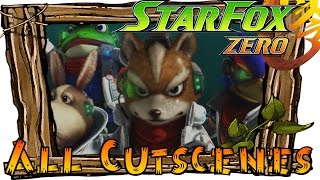 Star Fox Zero - All Cutscenes (Full Movie)