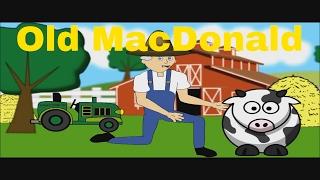 Old MacDonald Had A Farm EiEiO - Nursery Rhymes Songs For Kids