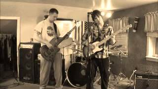 Psychedelic Rock Jam on Guitar and Bass