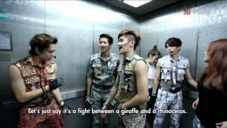 131230 Showbiz Korea : Unreleased Scene - INFINITE