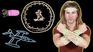 The Secret of Wonder Woman's Bullet Blocking! (Because Science w/ Kyle Hill)