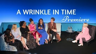 A Wrinkle In Time Premiere In London | Time With Natalie