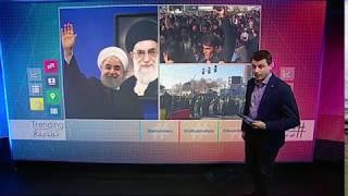 بي_بي_سي_ترندينغ | #مظاهرات_إيران تطالب بإسقاط #روحاني