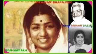 LATA JI-Film-KAR BHALA-1956-Balam Ji Bade Nadaan-[ Great Melody In Best Audio Sound ]