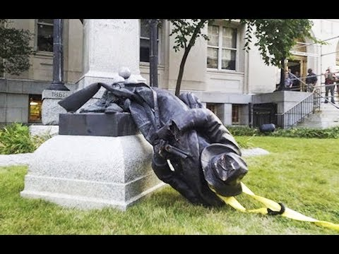 Xxx Mp4 Confederate Statue Smashed By Protesters VIDEO 3gp Sex