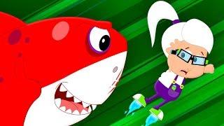 Scary Flying Shark   Scary Nursery Rhymes   Songs For Children   Bud Bud Buddies