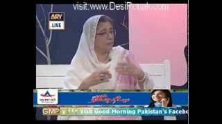 Parveen Nizami in Good Morning Pakistan   22nd May 2012 part 3 High Quality