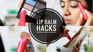 5 Lip Balm Hacks - Using Nivea Lip Balm | life hacks beauty SuperWowStyle