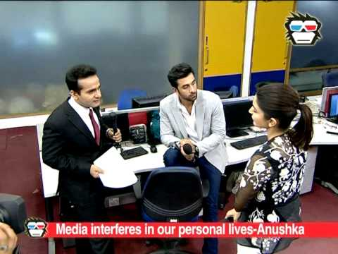 Exclusive Interview: Ranbir kapoor and Anushka Sharma talk about their love lives/ relationships