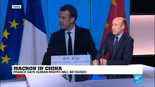 """Macron in China: """"France is like the last man standing in Europe"""""""