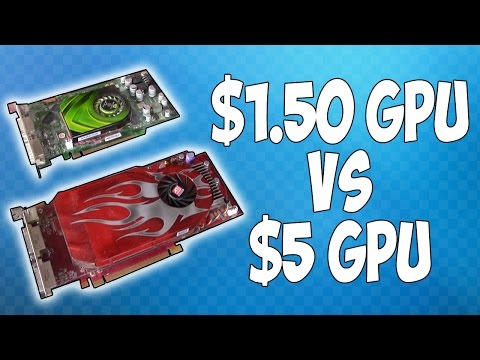 The 1.50 Graphics Card Takes on a 5 Graphics Card