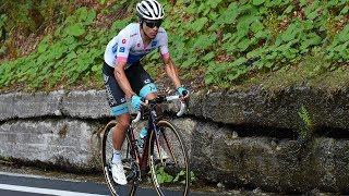 Miguel Ángel SUPERMAN lópez atacó y voló / Etapa 18 Giro de italia