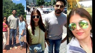 Aishwarya Rai And Abhishek Bachchan Vacation In New York