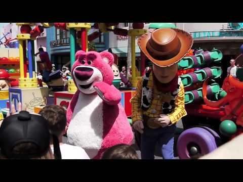 Meet Lots o Huggin Bear aka Lotso from Toy Story 3 at Disney s Hollywood Studios