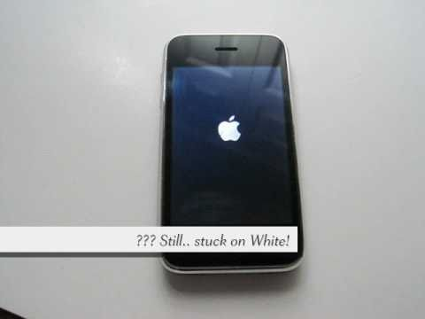 Stuck on white Apple logo, Simple steps to RestoreRecovery.