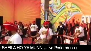 Sheila Ho Ya Munni | Live Performance for Samsung | Daler Mehndi