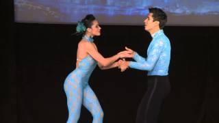 Rodrigo Guzman & Nayara Nunez - World Latin Dance Cup 2012 Salsa Cabaret Couple SemiF
