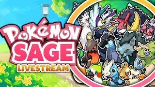 SICK FAKEMON!? Pokemon Sage Fan Game - Livestream