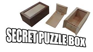 How to Build a Secret Compartment Box / Puzzle Box