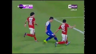 """أسوان يحرز الهدف الأول في شباك الأهلي بقدم """"شكري نجيب""""...(الأهلي vs أسوان)"""