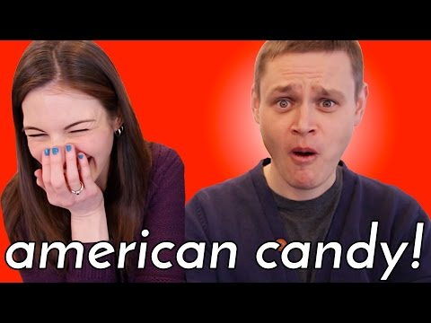 German Tries American Candy (from my