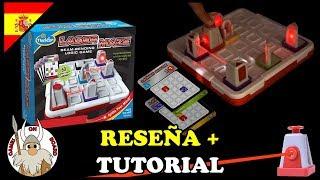 Cómo jugar a Laser Maze Reseña y Tutorial (ESPAÑOL) Juegos de mesa -Games On Board-