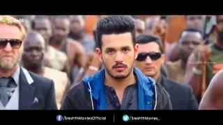 Akhil movie trailer