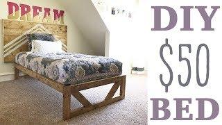 $50 Modern Platform Bed