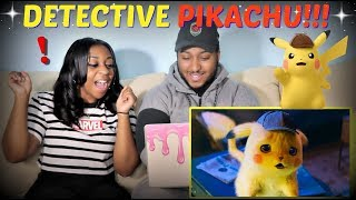 """""""POKÉMON Detective Pikachu"""" Official Trailer #1 REACTION!!!!"""