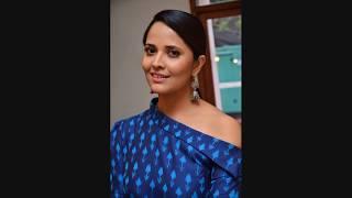 Actress Anasuya Stills From Jai Lava Kusa Theatrical Trailer Launch Event || SocialNews.XYZ