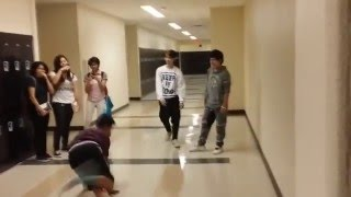 Cool kids VS nerds! Dance battle (Clark DFC)