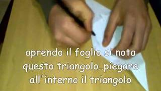 Tutorial origami topolino - mouse part 1