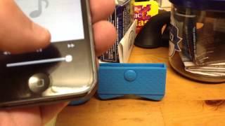 Iphone speaker horn