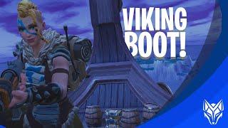 LANDEN OP DE VIKING BOOT OM TE WINNEN! - Fortnite: Battle Royale DUO's (Nederlands)