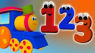 Bob Keretapi Menghitung nombor | Kartun 3D | Nombor untuk kanak-kanak | 1-10 nombor|Counting Numbers