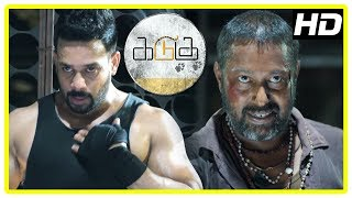 Kadugu Movie Climax   Bharath realise his mistake and kill minister   End Credits