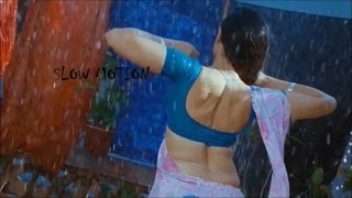 Anuya hot & wet body show in rain SLOW MOTION
