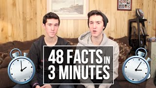 48 FACTS IN 3 MINUTES