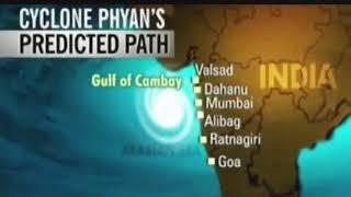 Cyclone phyan | 2017 | Mumbai on high  alert 🚨