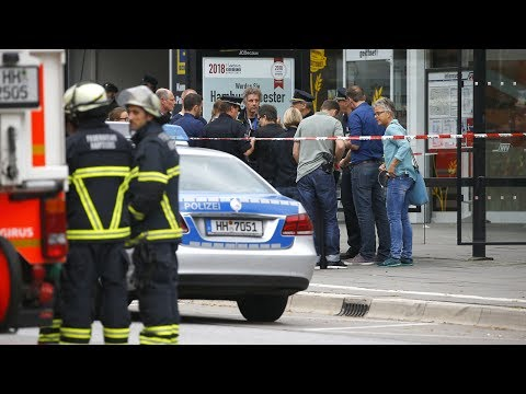 One person killed, four wounded in knife attack in Germany