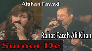 Suroor De | Rahat Fateh Ali Khan, Afshan Fawad | HD Video Song