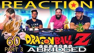 TFS Dragon Ball Z Abridged REACTION!! Episode 60 - Part 3