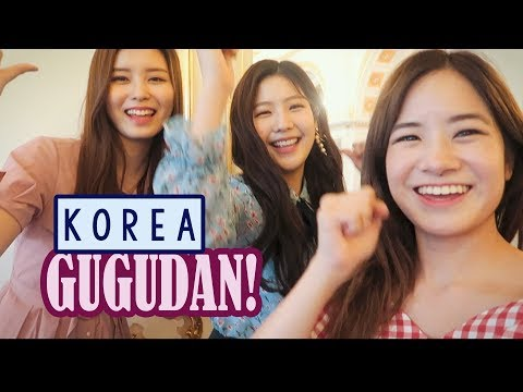 Meeting Kpop Idol Group Gugudan & Korean Masterchef   Last Day in KOREA