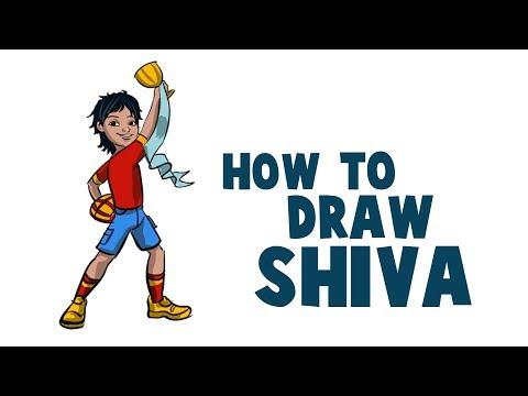 Xxx Mp4 How To Draw Shiva Cartoon In Krita Drawing And Coloring Shiva In Krita 3gp Sex