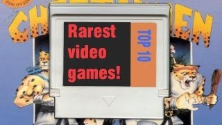 Top 10 Rarest and Most Expensive Video Games in History :: Canaria