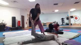 Thai Massage Jam and Low Back Pain Techniques