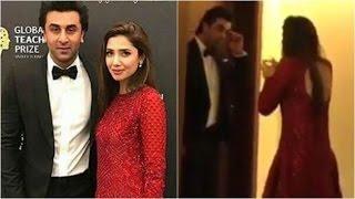 Is Ranbir Kapoor trying to woo Mahira Khan in this video?