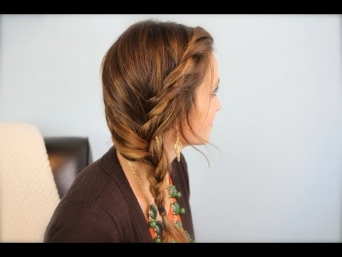 Subtle Twist Side Braid Cute Girls Hairstyles